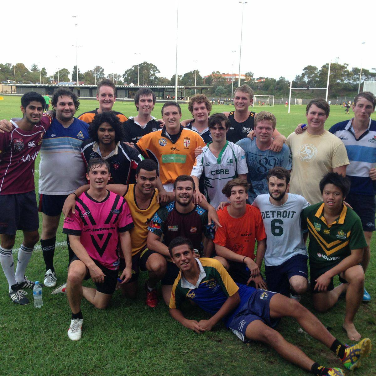 Shalom College & NCV, UNSW Rugby Team
