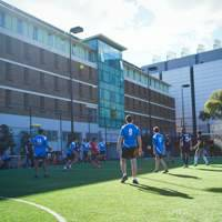 Thumbnail ofFutsal played behind New College.jpg