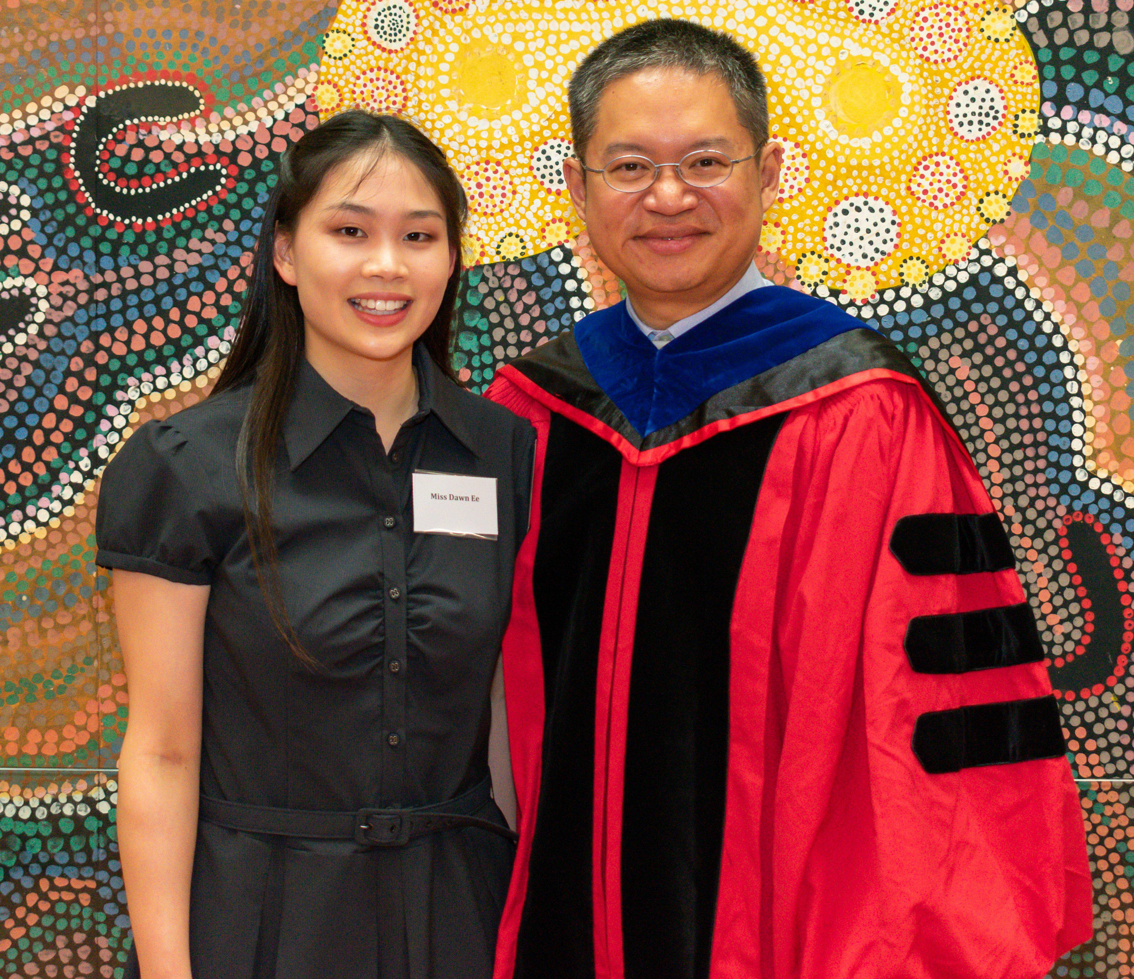 Dr Wah Guan Lim with Dawn Ee