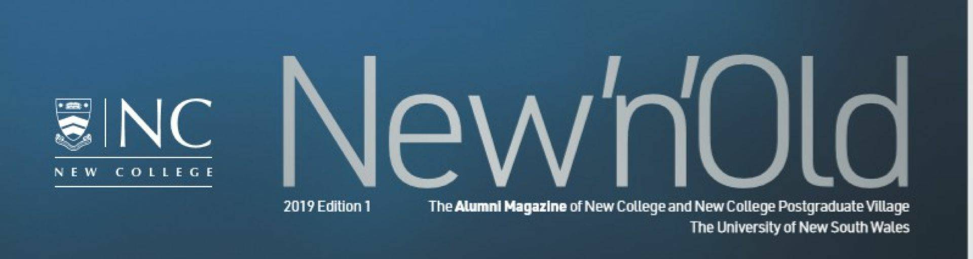 New n old magazine title